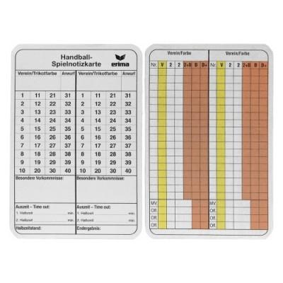 エリマ ハンドボール ゲームノートカード