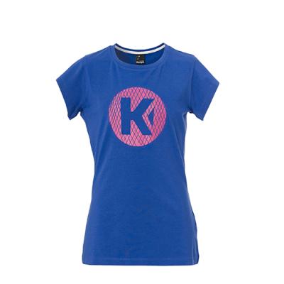 ケンパ Kロゴ Tシャツ レディース エレクトリックパープル 2018