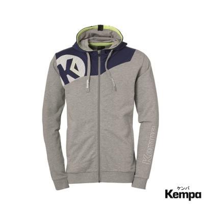 ケンパ コア 2.0 フード付きジャケット ダークグレー ディープブルー 2019